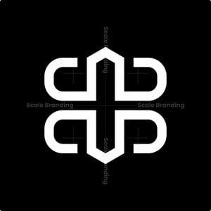 Modern Bb Monogram Logo