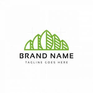 Mountain Leaves Logo
