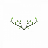 Nature Deer Logo