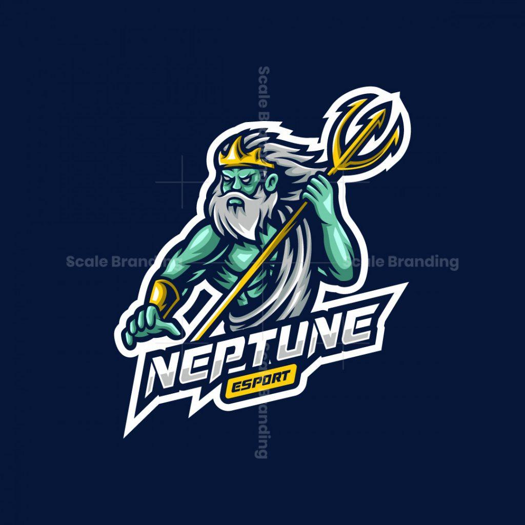 Neptune Esport Mascot Logo