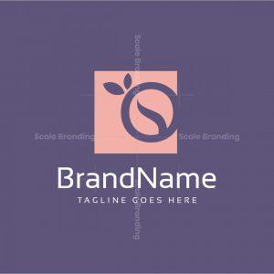 Organic O Letter Logo