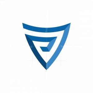 P7 Shield Letters Logo