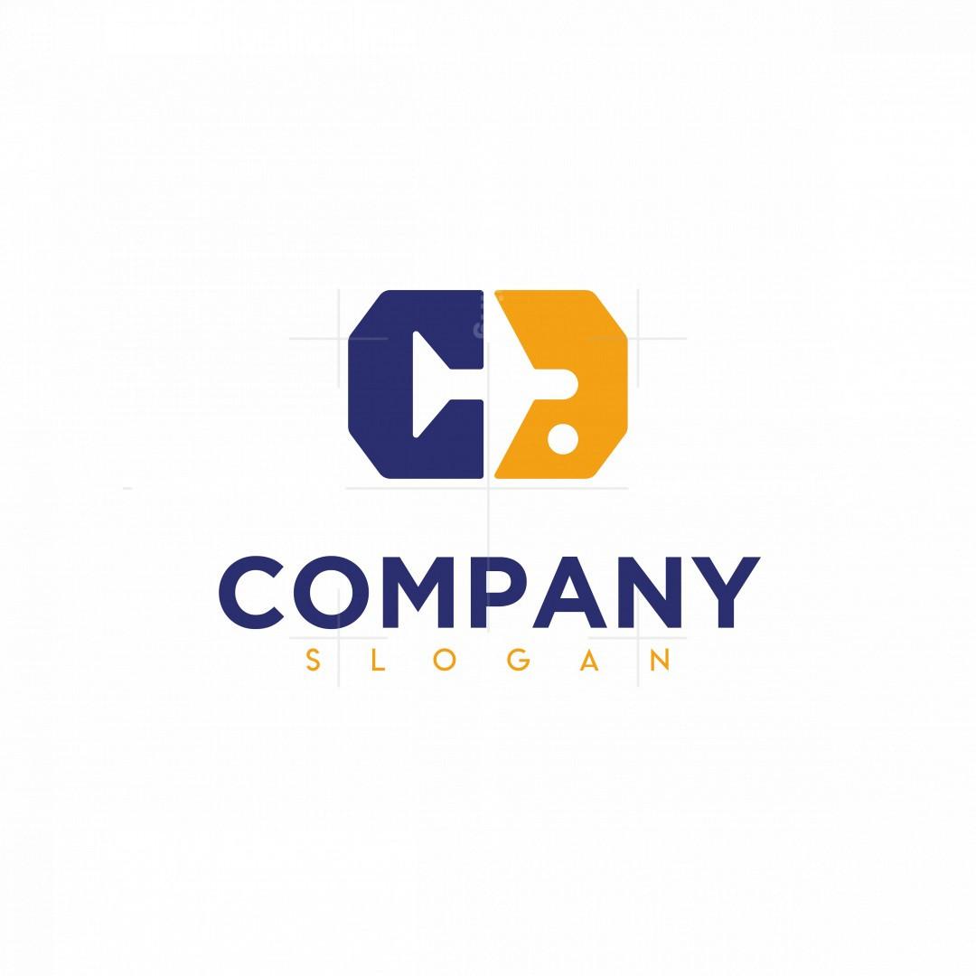 Plane (c&a Initials) Logo