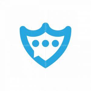 Privacy Chat Shield Logo