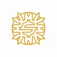 Letter S And Dragon Logo