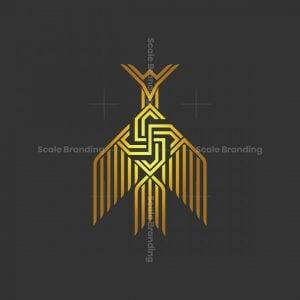 S Letter Phoenix Logo