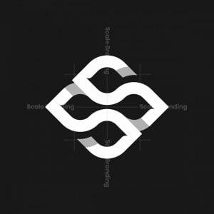 Ss Ninja Head Monogram Logo