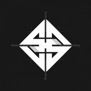 Ss Or H Monogram Logo