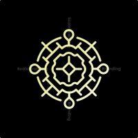 Sacred Location Mark Logo