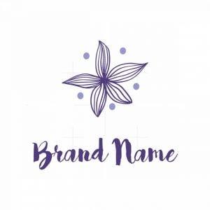 Starfish Flower Logo