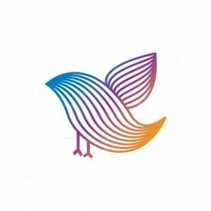 Multiline Bird Logo