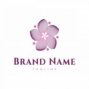Multiline Flower Line Logo