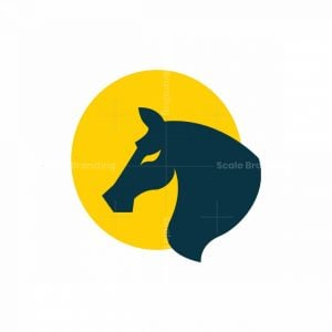 Horse With Sun Logo