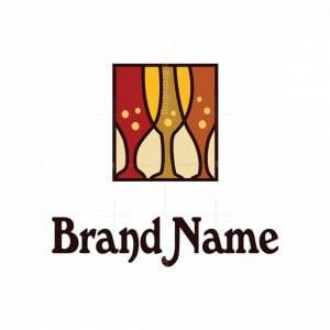 Wine/beer Glasses Logo
