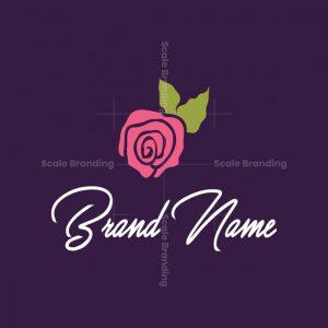 Pink Rose Logo