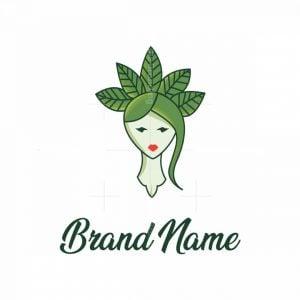 Green Nature Women Logo