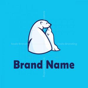 Polar Bear And Cub Logo