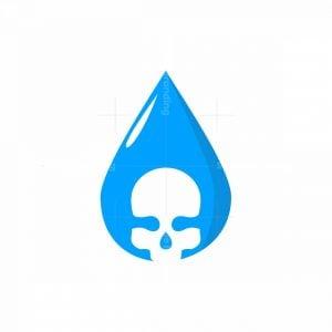 Skull Drop Logo