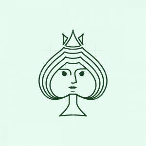 Spade Queen Logo