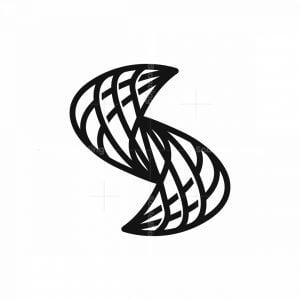 Spider Web S Letter Logo