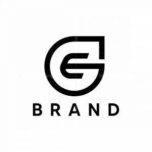 Stylish Letter E Sport Logo
