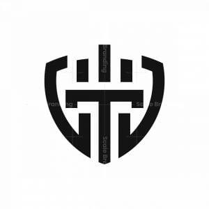 T Shield Logo