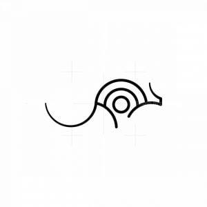 Jumping Kangaroo Line Logo