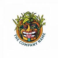 Tiki Mask Logo