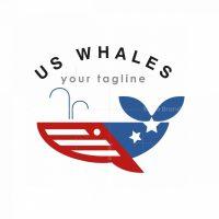 Us Whales Logo