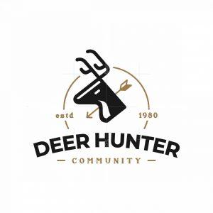 Vintage Deer Hunter Community Logo