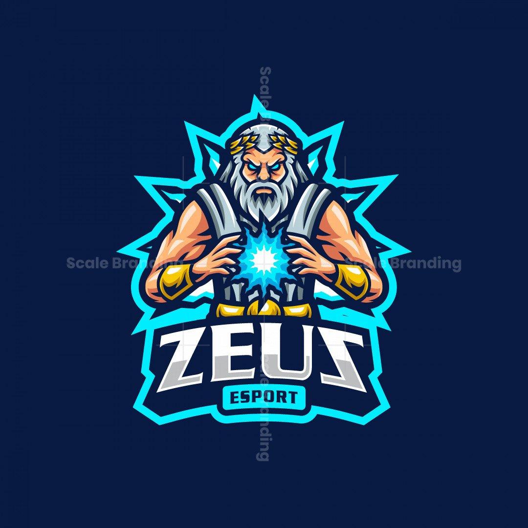 Zeus Esport Mascot Logo