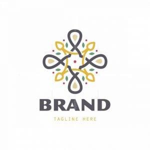 Almond Symbol Logo