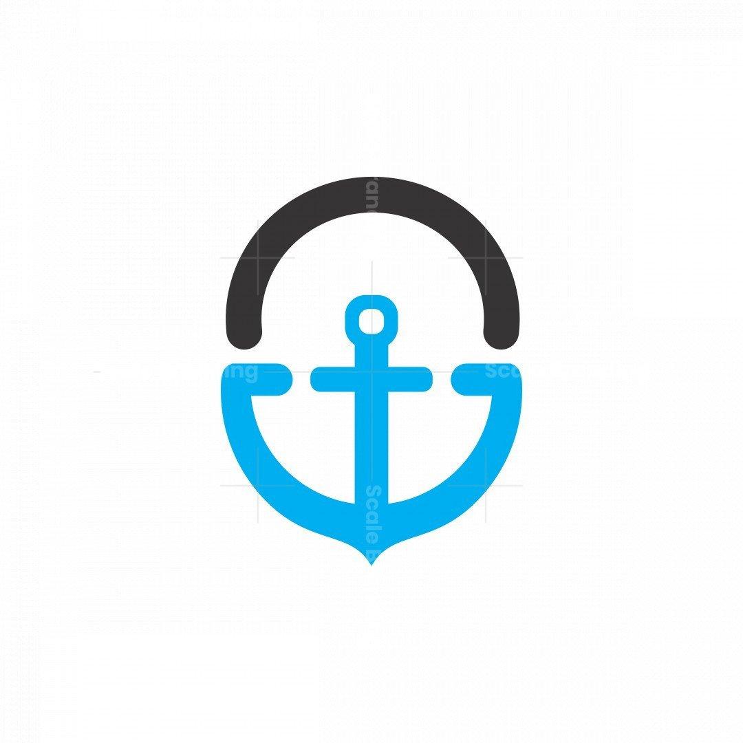 Letter G Anchor Logo