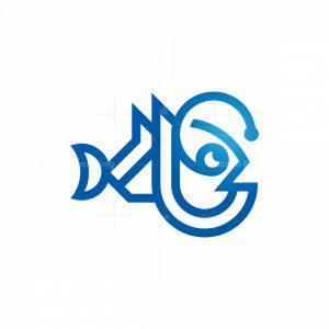 Anglerfish Logo Angler Fish Logo