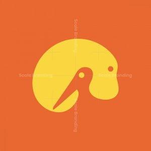 Negative Space Animals Logo