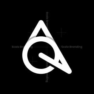 Letter Aq Monogram Modern Logo