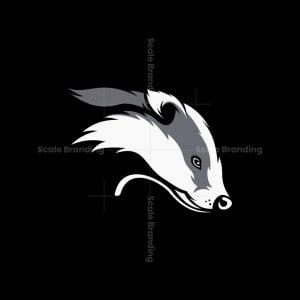 Honey Badger Mascot Logo