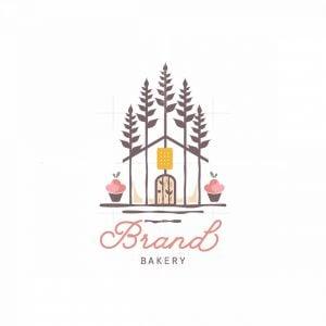 Bakery House Symbol Logo