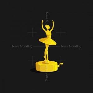 Ballerina Music Box Logo