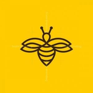 Simple Bee Line Logo