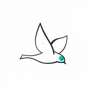 Little Bird Icon Logo