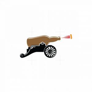 Bottle Cannon Logo