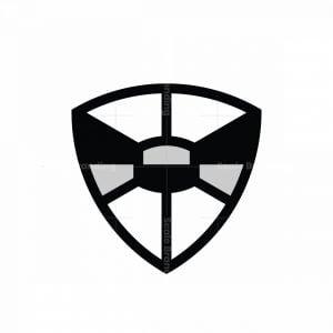 Bow Tie Shield Logo