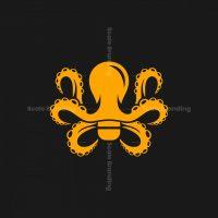 Bulb Octopus Logo