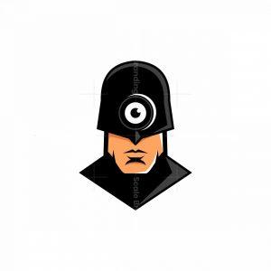 Camera Superhero Mascot Logo