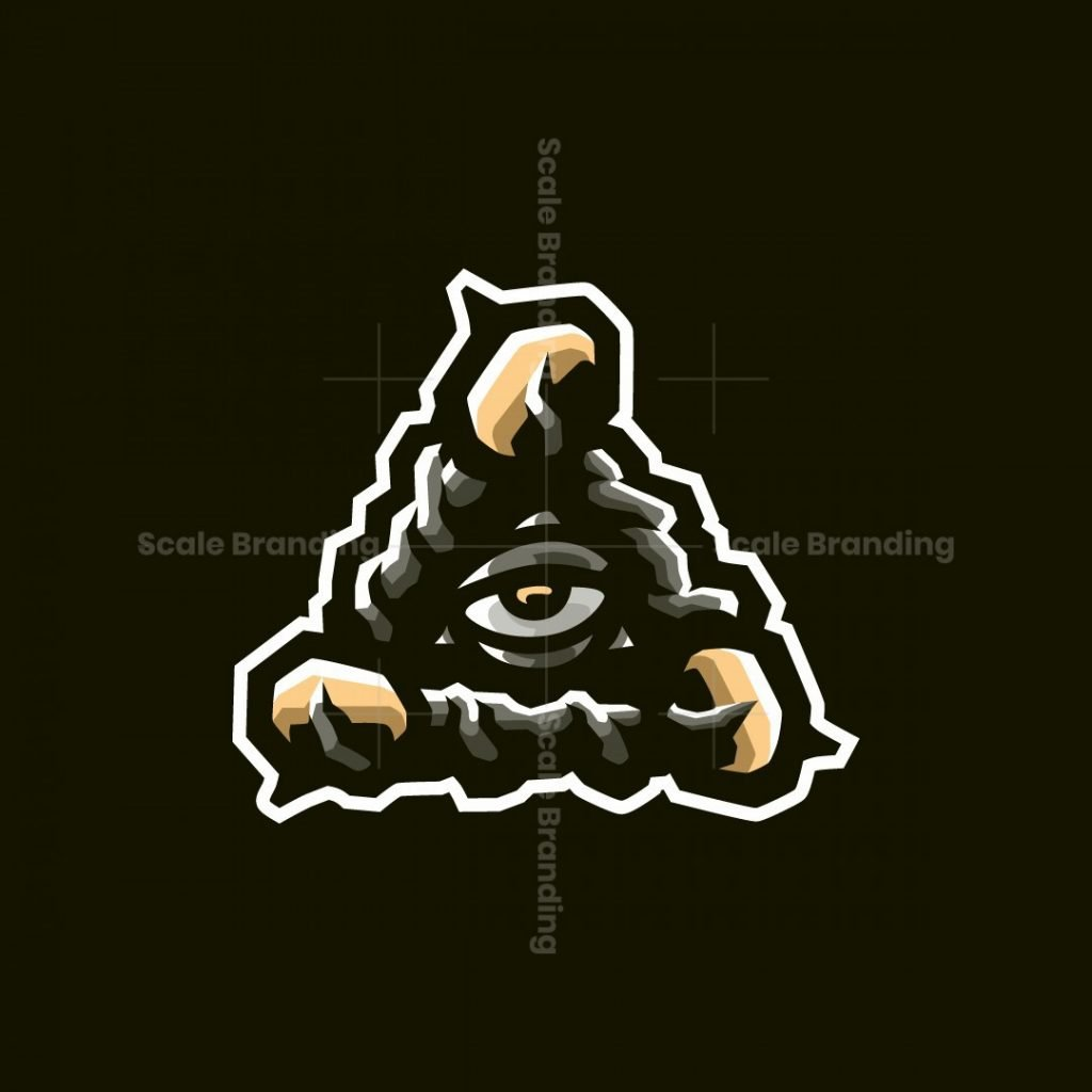 Dota Wards Eye Of Providence Esports Mascot Logo Design