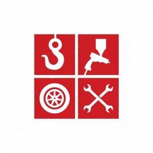 Car Repair Shop Icon Logo
