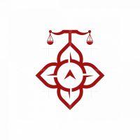 Compass Flower Firm Logo