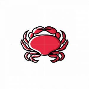 Crab Mascot Logo