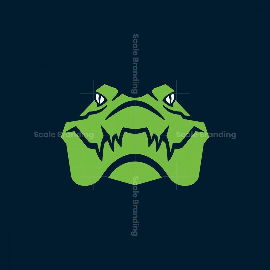 Crocodile Icon Logo